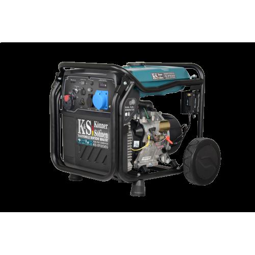 Инверторный генератор Konner&Sohnen KS 8100iEG (000004294)