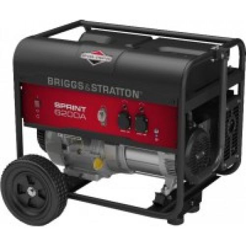 Генератор бензиновый Briggs & Stratton Sprint 6200A (030673)