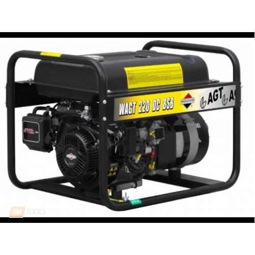 Генератор бензиновый сварочный AGT WAGT 220 DC BSBE R26 PFWAGT220DB36/E