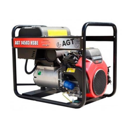 Генератор бензиновый AGT 14503 HSBE R16 PFAGT14503H16/E
