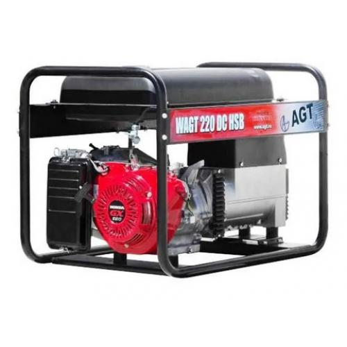 Генератор бензиновый сварочный AGT WAGT 220 DC HSB R26 PFWAGT220HN26/E
