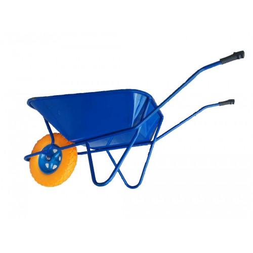 Тачка строительная 1-но колесная, пневматическое колесо Абрис 870431