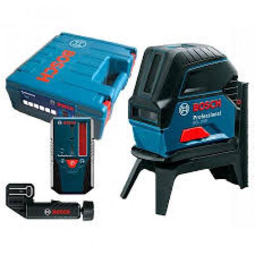 Лазерный нивелир Bosch GCL 2-50 + LR 6 + RM 1 + BM 3 (0601066F01)