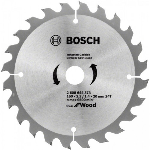 Диск пильный Bosch 160x20/16x2 Spedline ECO 2608644373