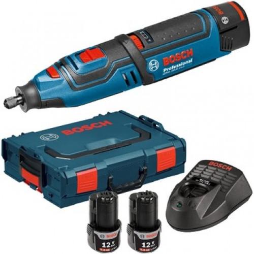 Аккумуляторный многофункциональный инструмент Bosch GRO 12V-35 (L-Boxx) (06019C5001)
