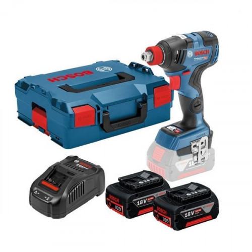 Аккумуляторный ударный гайковерт Bosch GDX 18V-200 C (06019G4201)