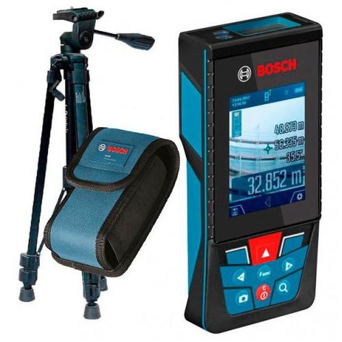Лазерный дальномер Bosch GLM 120 C + BT 150 (0601072F01)