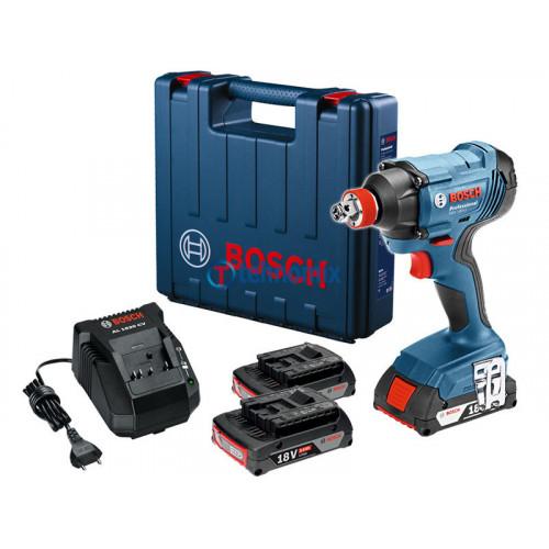Аккумуляторный ударный гайковерт Bosch GDX 180-LI (06019G5220)
