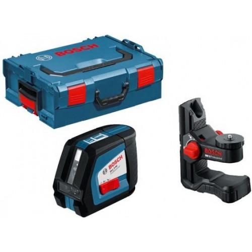Линейный лазерный нивелир BOSCH GLL 2-50 + Держатель BM1 (0601063108)