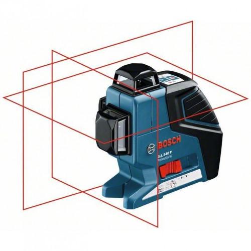 Линейный лазерный нивелир BOSCH GLL 3-80 P + Штатив BT 250