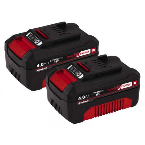 Аккумулятор Einhell PXC-Twinpack 4,0 Ah, 2 шт. (4511489) заказать и купить с доставкой Киев и Украина
