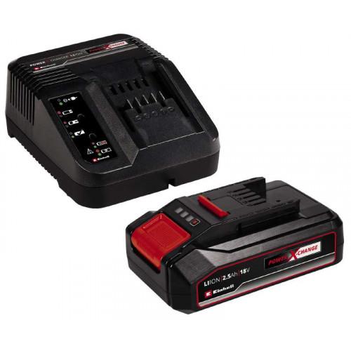 Зарядное устройство Einhell 18V 2,5Ач Starter-Kit Power-X-Change (4512097)