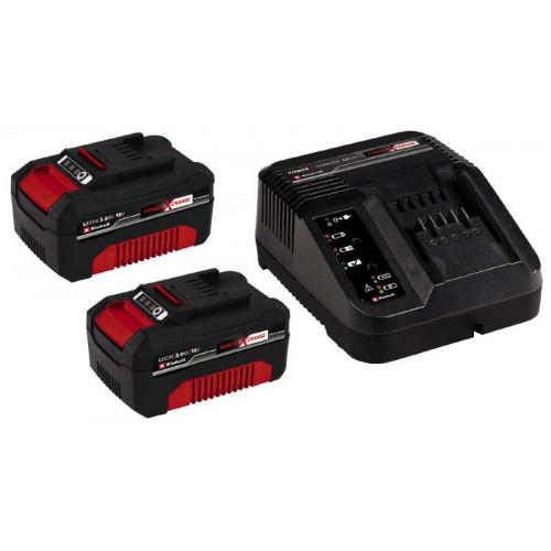 Зарядное устройство Einhell 18V 2x3,0Ah Starter-Kit Power-X-Change (4512098)