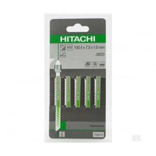 Набор лобзиковых пилок Hitachi JM41, металл 5 шт.