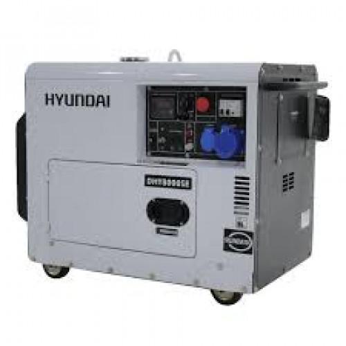 Дизельный генератор дизельный Hyundai DHY 8000SE