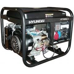Бензиновый трехфазный генератор Hyundai HY 7000LE-3