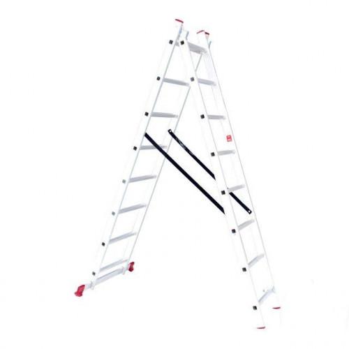 Лестница алюминиевая Intertool LT-0208