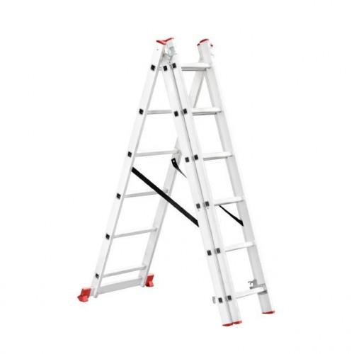 Лестница алюминиевая Intertool LT-0306
