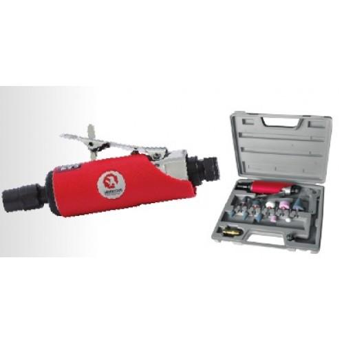 Шлифмашина пневматическая в чемодане INTERTOOL PT-1003