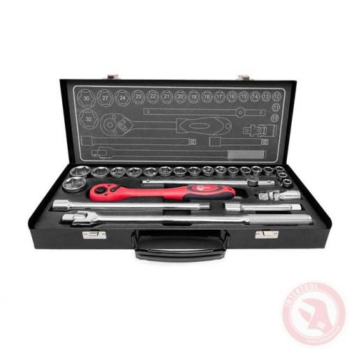 Профессиональный набор инструмента INTERTOOL ET-6025
