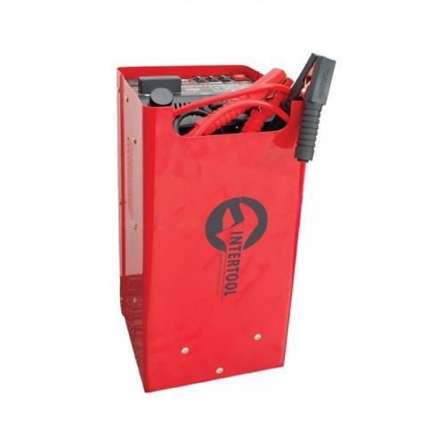 Пускозарядное устройство 12В-24В, 230В, 300А, 50/60Гц, 1.2кВт Intertool AT-3016