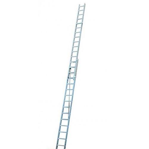 Двухэлементная лестница, выдвигаемая тросом Corda KRAUSE 2x16 ступеней