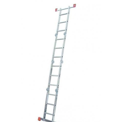 Шарнирная лестница-стремянка KRAUSE MultiMatic 4x5 ступеней