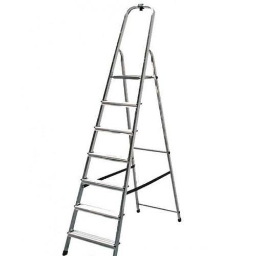 Односторонняя стремянка Solidy KRAUSE 7 ступеней
