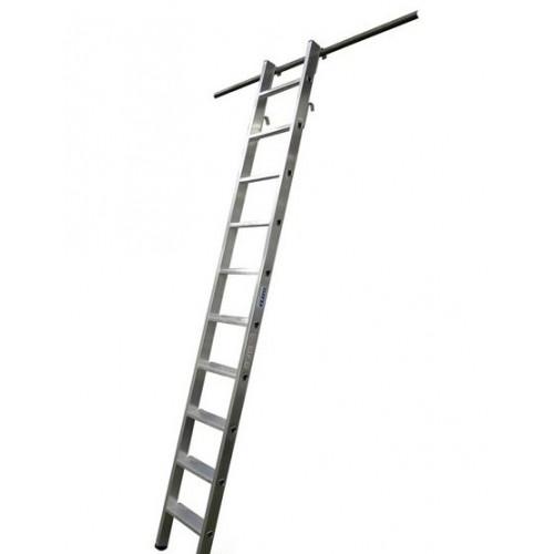 Лестница для стеллажей подвесная KRAUSE 6 ступеней