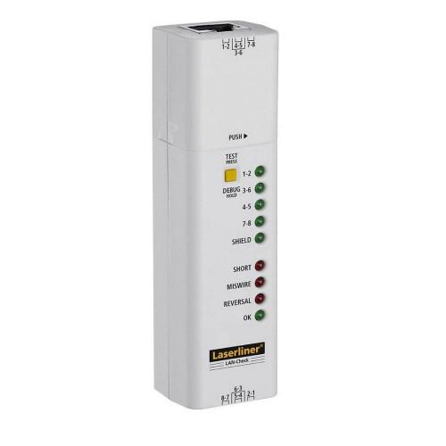 Прибор для проверки кабелей Laserliner LAN-Check 083.064A