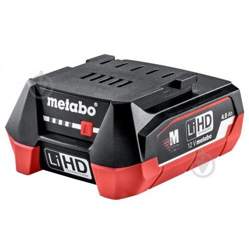 Аккумулятор Metabo LiHD 12 В / 4 Ач (625349000)