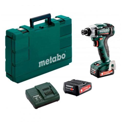 Аккумуляторный ударный гайковерт Metabo PowerMaxx SSD 12 BL (601115500)