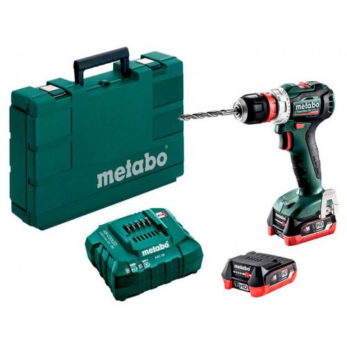 Аккумуляторная дрель-шуруповерт Metabo PowerMaxx BS 12 BL (601038500)