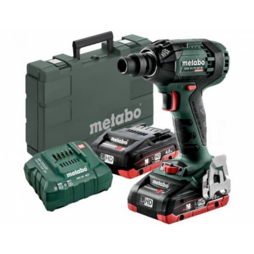 Аккумуляторный ударный гайковерт Metabo SSW 18 LTX 300 BL (602395800)