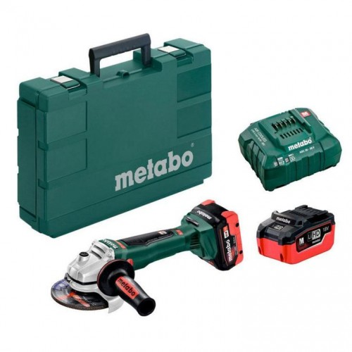 Аккумуляторная угловая шлифмашина Metabo WB 18 LTX BL 125 Quick (613077660)