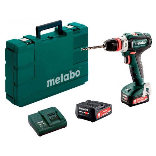 Аккумуляторная дрель-шуруповерт Metabo PowerMaxx BS 12 BL Q (601039500)