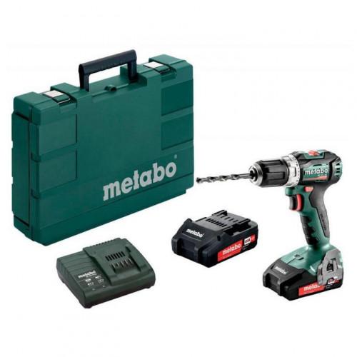 Аккумуляторная дрель-шуруповерт Metabo BS 18 L BL (602326500)