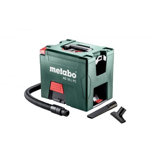 Аккумуляторный пылесос сухой уборки Metabo AS 18 L PC (602021000)
