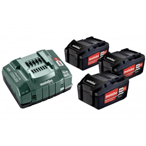 Базовый комплект аккумуляторов Metabo Li-Power 3 x 5,2 Ач (685048000)