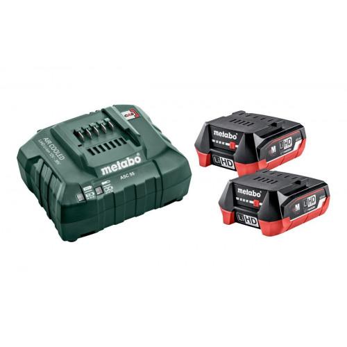Набор аккумуляторов Metabo 2 x Li-Power 12 В / 2 Ач + зарядное устройство SC 30 (685300000)