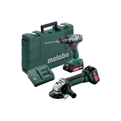 Набор аккумуляторного инструмента Metabo Combo Set 2.4.3 18 V (685082000)