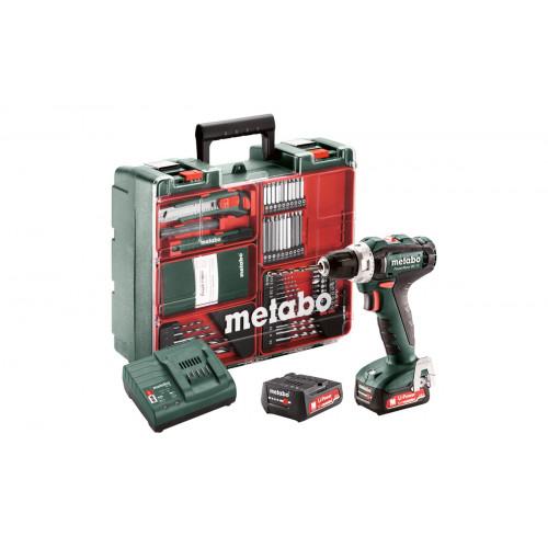 Аккумуляторная дрель-шуруповерт Metabo PowerMaxx BS 12 Set (601036870)