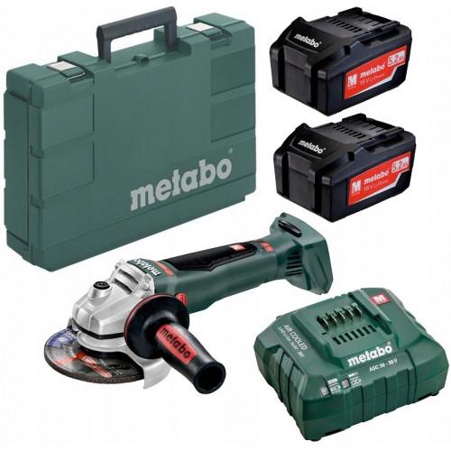 Аккумуляторная угловая шлифмашина Metabo WB 18 LTX BL 125 Quick (613077810)