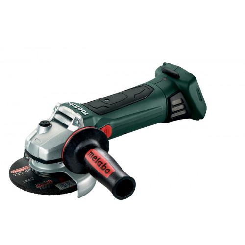 Аккумуляторная угловая шлифмашина Metabo W 18 LTX 125 Quick (каркас) (602174850)