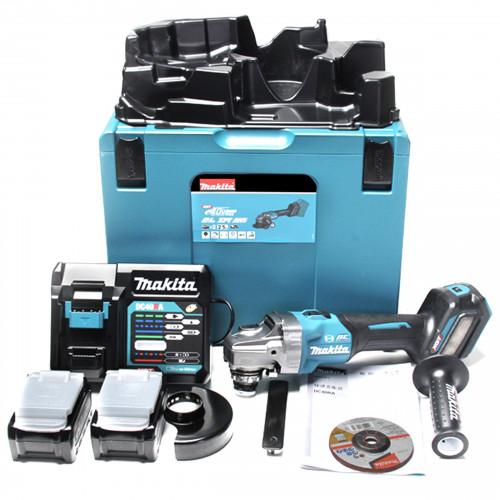 Аккумуляторная угловая шлифовальная машина Makita GA023GD201