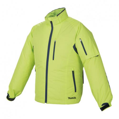 Аккумуляторная куртка с вентиляцией Makita DFJ212ZL, размер L