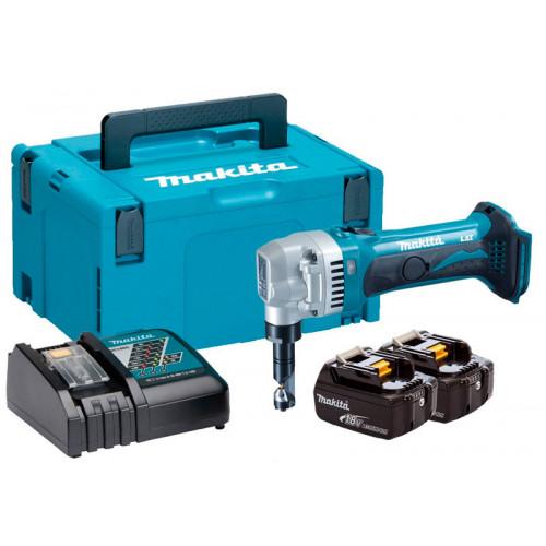 Аккумуляторные ножницы высечные Makita DJN161RFJ