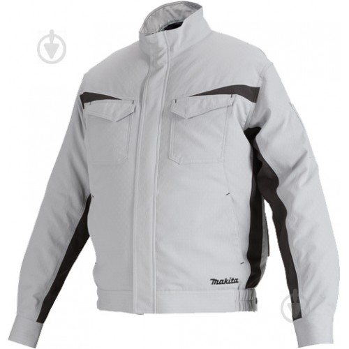 Аккумуляторная куртка с вентиляцией Makita DFJ213ZL, размер L