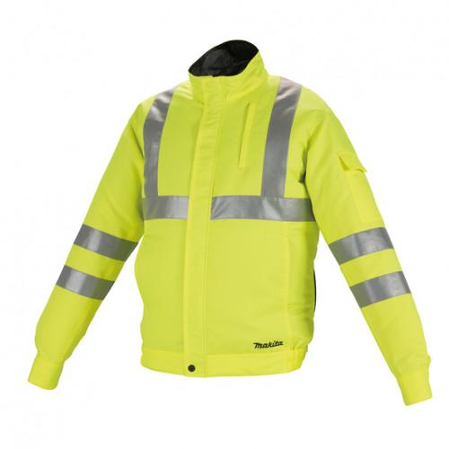 Аккумуляторная куртка с вентиляцией Makita DFJ214ZXL, размер XL