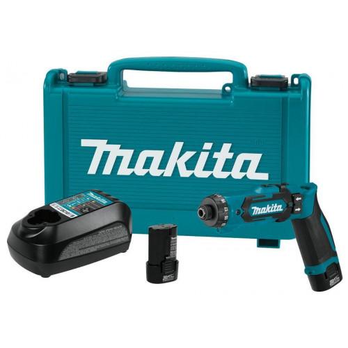 Аккумуляторная отвертка Makita DF012DSE заказать и купить с доставкой Киев и Украина